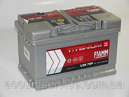 Акумулятор FIAMM TITANIUM PRO L3B 75P