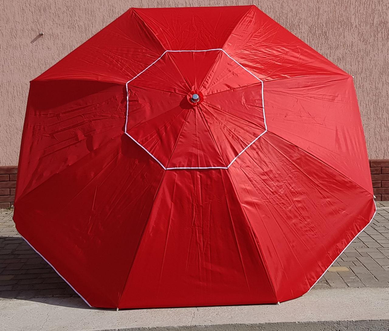 Зонт садовый торговый Sansan umbrella 089W  2,8 метра