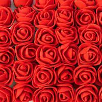Розы для изготовления сувениров венков обручей 144 шт