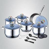Набор посуды 18 в 1 Royalty Line RL-1801, фото 1