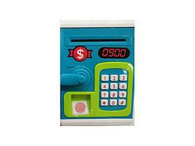 Игрушка-копилка Money Bank с кодовым замком и отпечатком пальца
