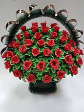 Ритуальные корзины и цветы оптом и в розницу
