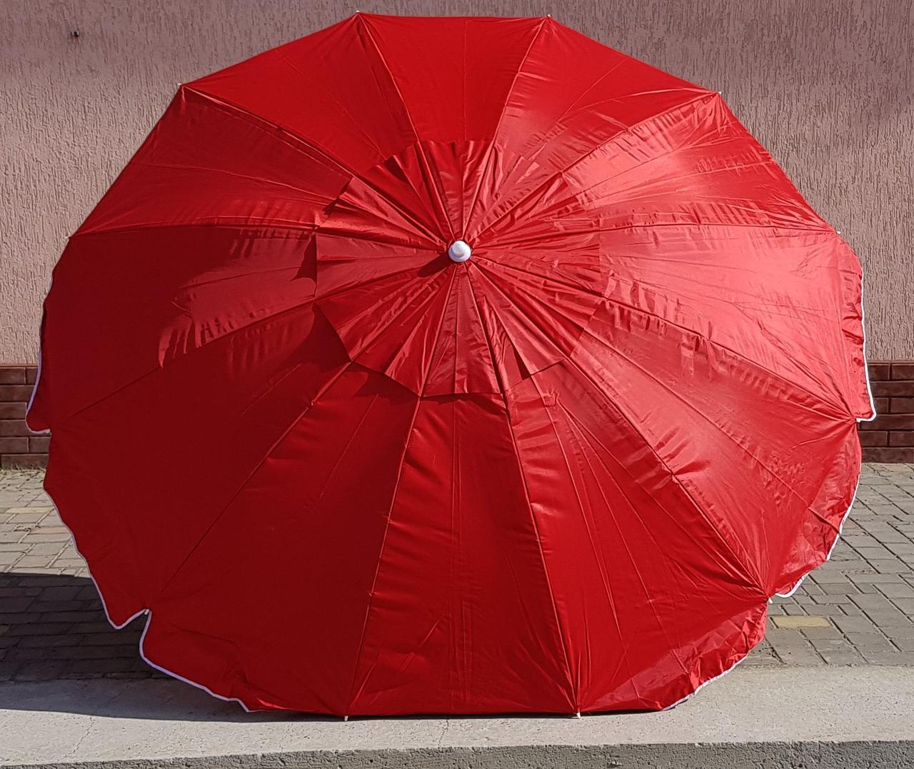 Зонт садовый торговый  Sansan Umbrella 061W 2,4 метра