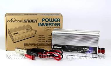 Преобразователь UKC AC/DC инвертор 1500W 12V SAA SHOER
