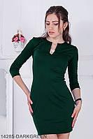 Жіноче плаття Подіум Dolichos 14285-DARKGREEN S Зелений