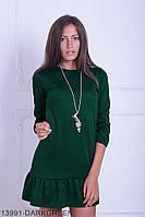Жіноче плаття Подіум Bombay 13991-DARKGREEN S Зелений