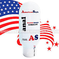 Смазка Анальная обезболивает Лубрикант American Style на водной основе 115 ml антисептик