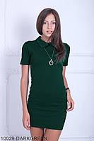 Жіноче плаття Подіум Myurus 10029-DARKGREEN S Зелений