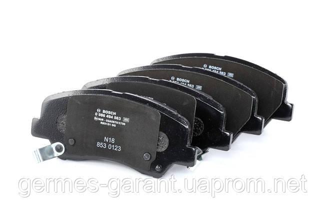 Колодки гальмівні дисковi передні Hyundai Accent Хюндай Акцент