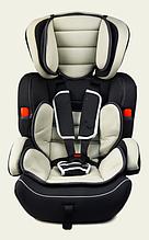 Автокресло AS0110 группа 1-2-3, черный, 9-36 кг, 5 точечный ремень безопасности