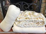 Чехол, плед и подушка флисовые - комплект на кушетку, фото 9