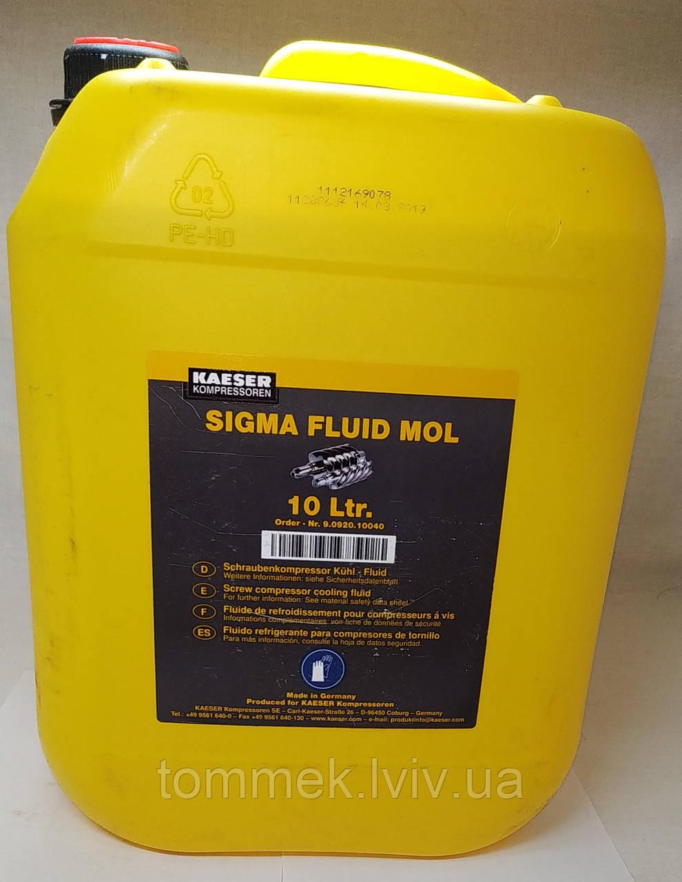 Масло для гвинтового компресора Kaeser синтетичне SIGMA FLUID FG 460 9.1462.0
