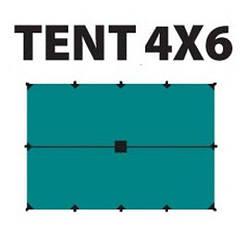Тент Tramp 4x6 м, TRT-102.04. Тент туристический