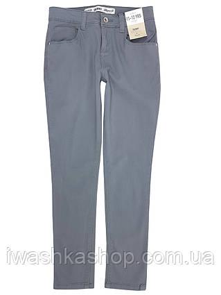 Серые джинсы скинни для девочки 12 - 13 лет, размер 158, Denim Co