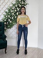 Модные и стильные женские джинсы весна-лето с высокой посадкой