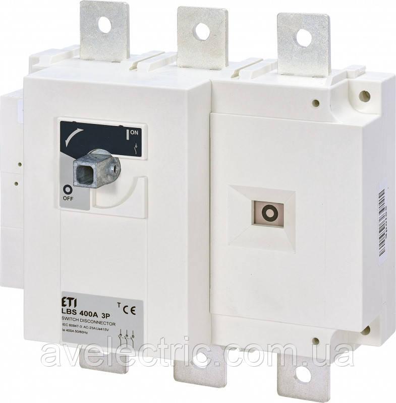 Выключатель нагрузки LBS 400 3P, ETI, 4661452