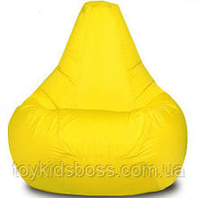 Крісло-мішок Груша Хатка велика Жовта