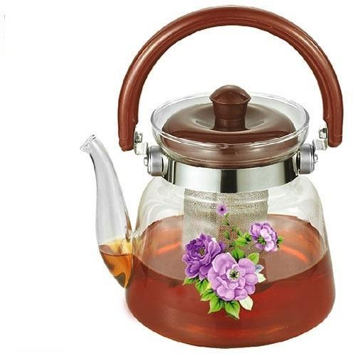 Заварник ( чайник для заварки ) термостекло 1200 мл Stenson MS-0134