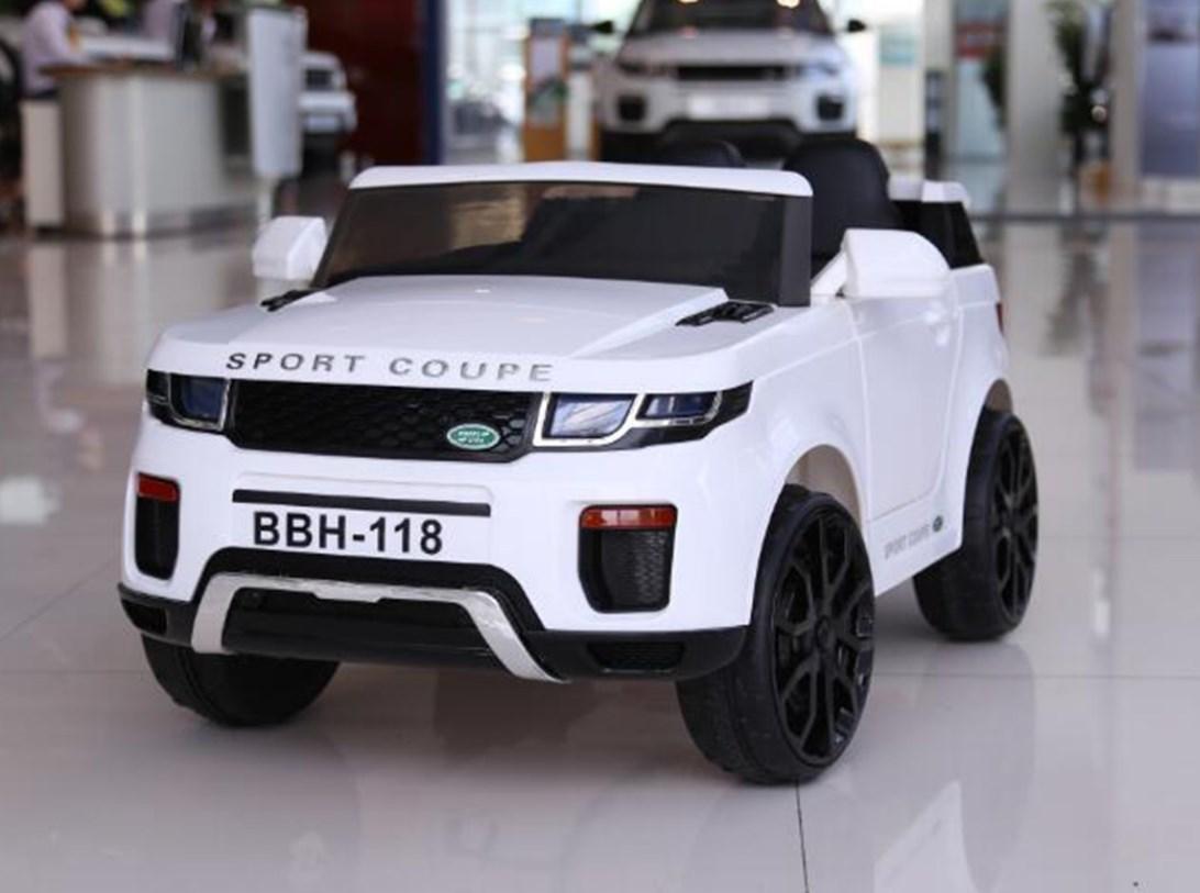 Детский электромобиль T-7832 WHITE джип, Land Rover