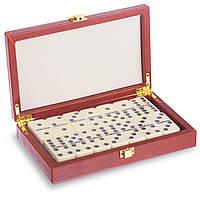 Домино классическое взрослое Настольная игра в коробке 28 костяшек Zelart 20,5 x 12,5 x 4 см (5211L)