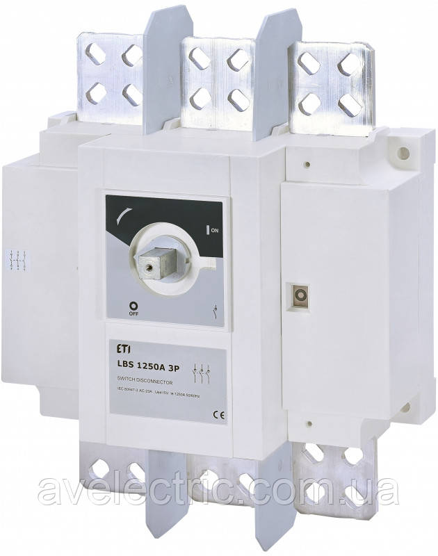 Выключатель нагрузки LBS 1250 3P, ETI, 4661456