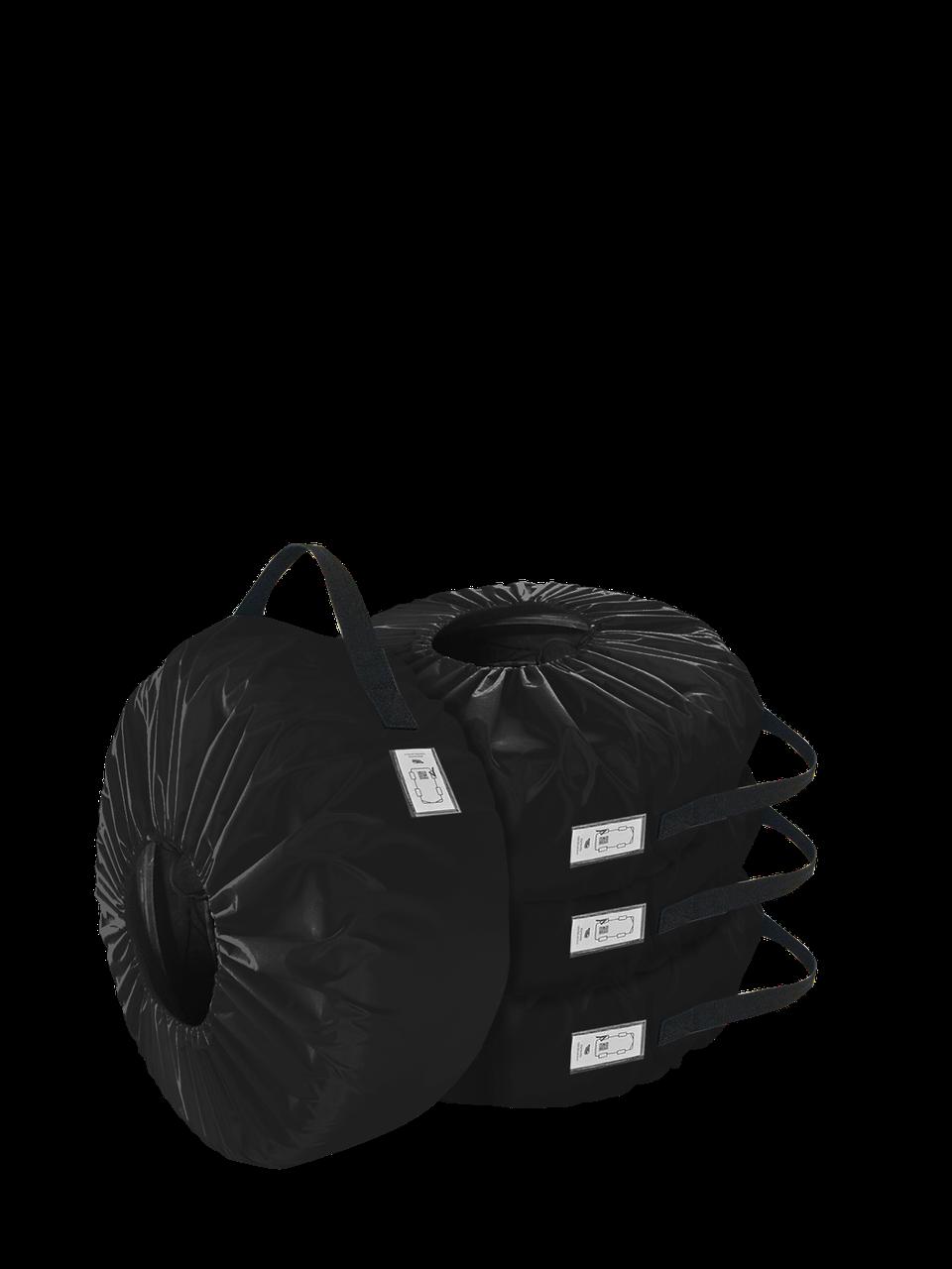 Комплект чохлів для коліс Coverbag Eco XXL чорний 4шт.