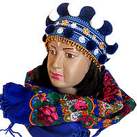 Корона гуцульска синя