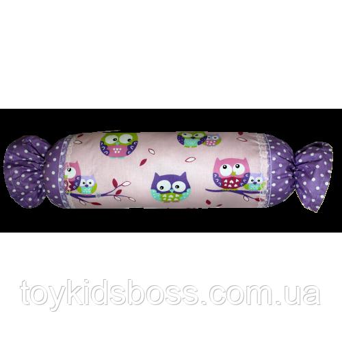 Подушка Хатка Цукерка Фіолетові Сови