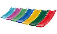 Небольшая пластиковая горка спуск Toba 1,2 метра для детей. Разные цвета. Бельгия.
