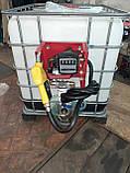 Міні АЗС для дизеля 220V Єврокуб. 60л\хв. з фільтром, фото 3