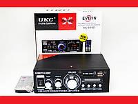 Усилитель UKC AK-699BT USB Блютуз 300W+300W 2х канальный