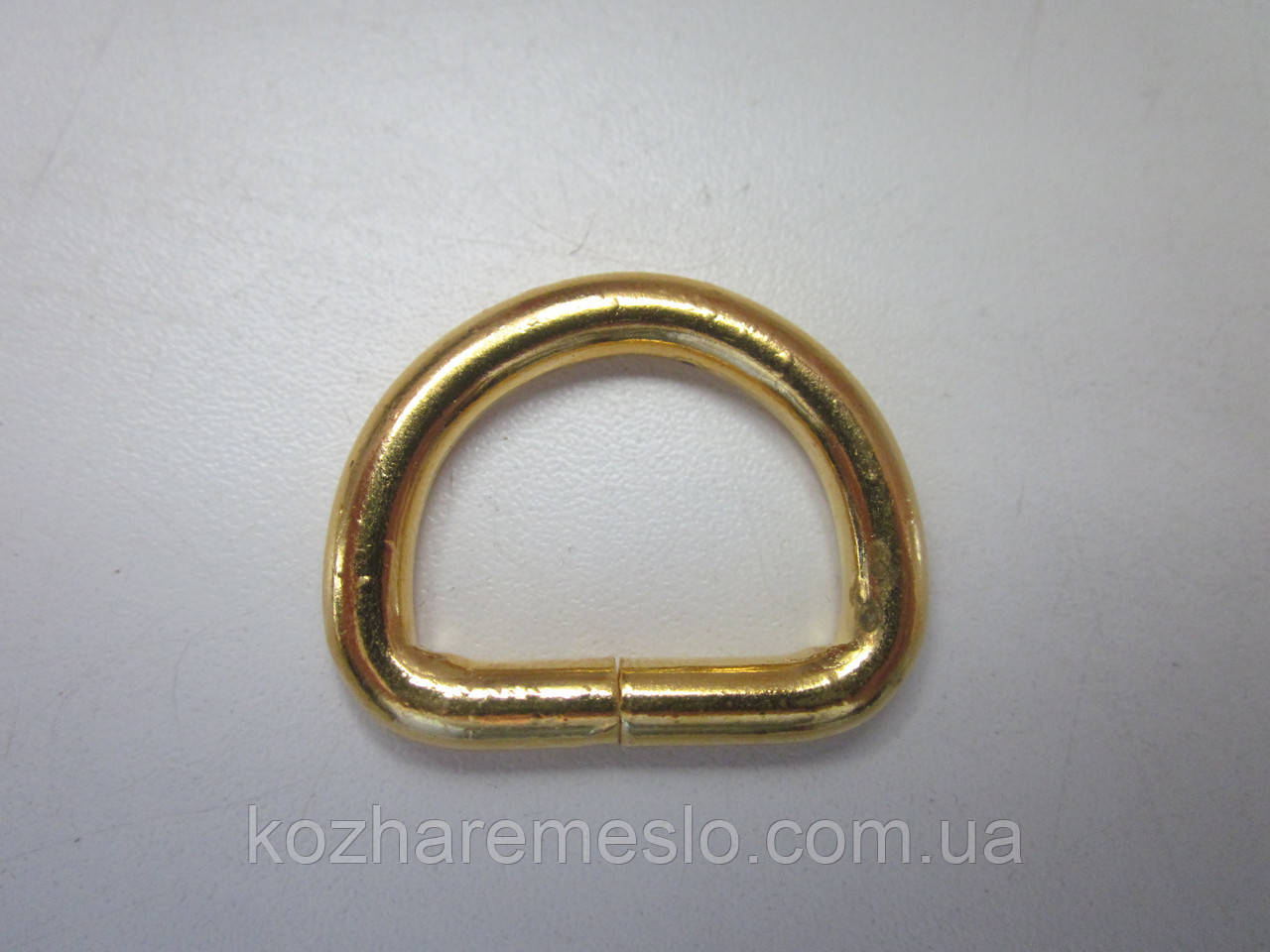Полукольцо 4 х 25  х 17 мм золото