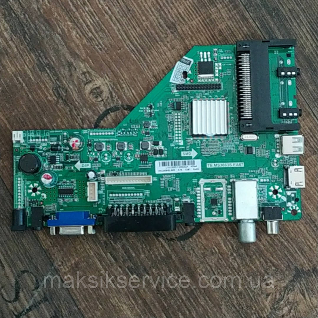 Main board TE.MS3663S.EA67 LED TV L24