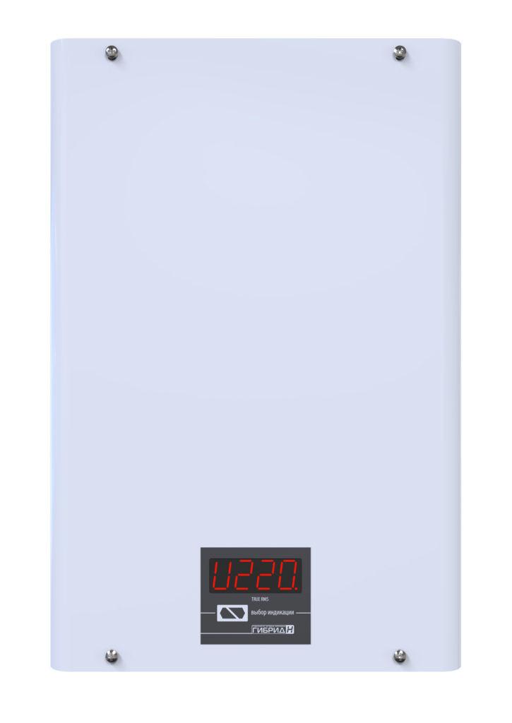 Стабилизатор напряжения однофазный бытовой Элекс Гибрид У 7-1-10 v2.0 - для дома, дачи, квартиры, офиса