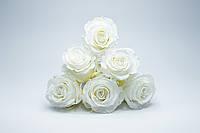 Стабилиованная Белая Роза, фото 1