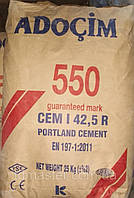 Цемент ПЦ-550 Турция Adocim, 25 кг (60шт/пал)