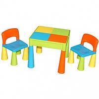 Столик и два стульчика Tega Mamut Multi разноцветный (TM001-02)