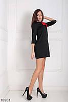 Жіноче платье Подіум Endi 10901 S Чорний