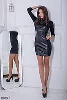 Жіноче плаття Подіум Elen 10897 S Чорний