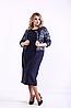 Жіноче плаття з жакетом великого розміру, 42-74 розмір