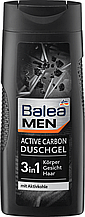 Гель для душа BALEA Men Duschgel Active Carbon 300мл
