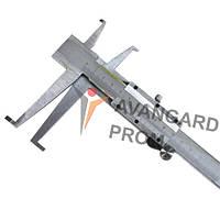 Штангенциркуль для вимірювання внутрішнього пазу  9-300 Л65 подвійний