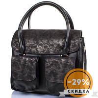 Сумка деловая ETERNO Женская сумка из качественного кожзаменителя Черный