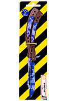 Нож-бабочка складной деревянный в раскраске Кристалл