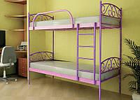 Кровать металлическая VERONA Duo Метакам. Металева кровать Loft
