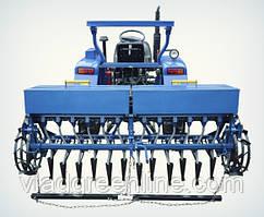 Сеялка зерновая 12-рядная для минитрактора Премиум