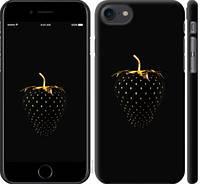 """Чехол на iPhone 7 Черная клубника """"3585c-336-15886"""""""
