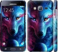 "Чехол на Samsung Galaxy J3 Duos (2016) J320H Арт-волк ""3999c-265-15886"""