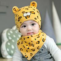 Дитяча шапка і косинка 34-44