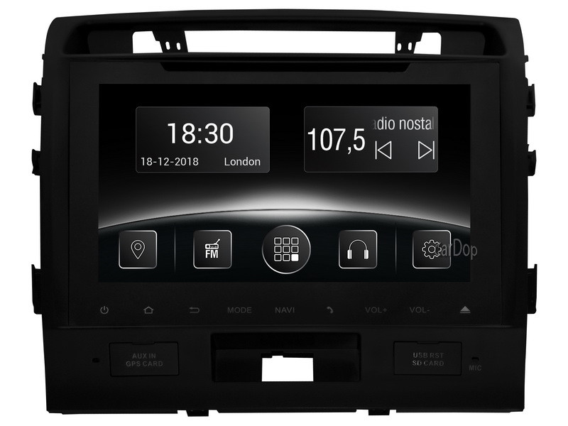Штатна магнітола Toyota Land Cruiser 200 2007-2015 CarPlay